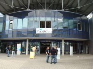 Eingangsbereich der FrOSCon 2008