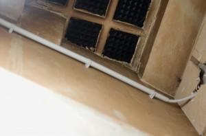 Installierte Stromversorgung Maschinenraum
