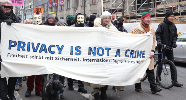 Privacy is not a Crime. Freiheit stirbt mit Sicherheit. International Day for Privacy #IDP13