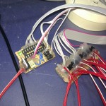 AVR-Schieberegister-Schaltung