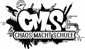 "Logo der Aktion ""Chaos macht Schule"""