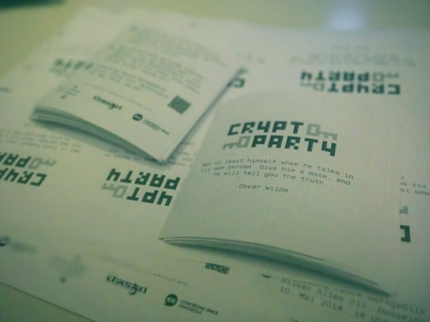 CryptoParty Flyer