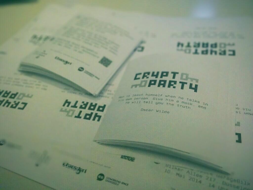 CryptoParty Flyer